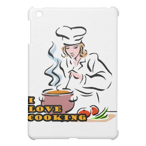 I Dig Cooking Chef Case For The iPad Mini