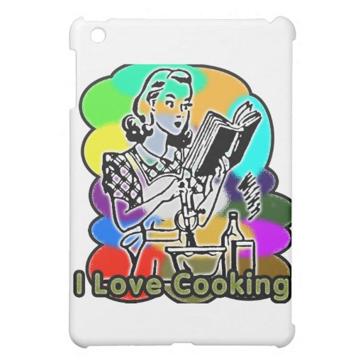 I Dig Cooking Ingredients iPad Mini Case