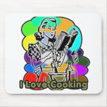 I Dig Cooking Ingredients Mouse Pads