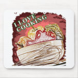 I Dig Cooking Mix it Up Mousepads