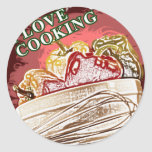 I Dig Cooking Mix it Up Stickers