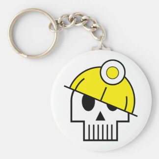 I Dig Dead People Keychain