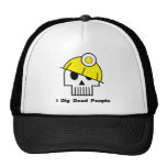 I Dig Dead People Text Hat