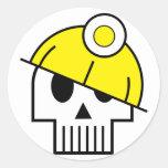 I Dig Dead Skulicon Sticker
