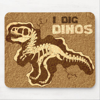 I Dig Dinos Mouse Pad