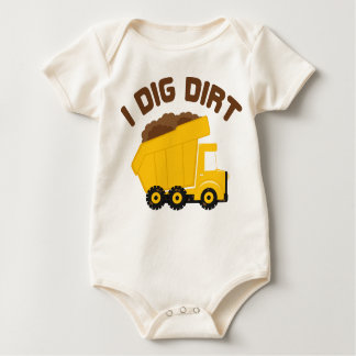 I Dig Dirt Baby Bodysuit