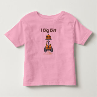 I Dig Dirt Toddler T-shirt