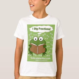I Dig Fractions T-Shirt