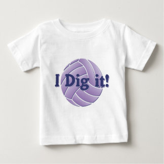 I dig it - Volleyball Baby T-Shirt