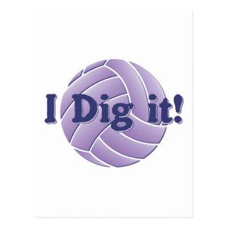 I dig it - Volleyball Postcard