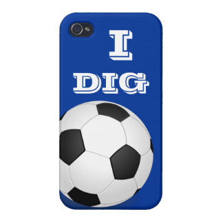 I Dig Soccer iPhone 4 iPhone 4/4S Cover