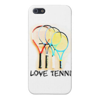 I Dig Tennis Beautiful Racket Case For iPhone SE/5/5s