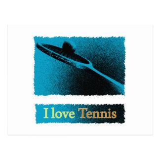 I Dig Tennis Deuce Postcard