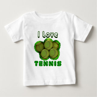 I Dig Tennis Grand Slam Baby T-Shirt