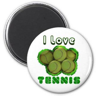 I Dig Tennis Grand Slam Magnet