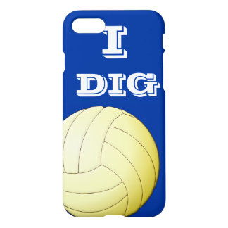 I Dig Volleyball iPhone 7 iPhone 8/7 Case