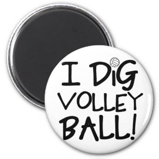 I Dig Volleyball Magnet