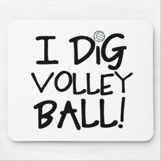 I Dig Volleyball Mouse Pad