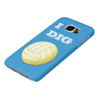 I Dig Volleyball Samsung Galaxy S6 Case