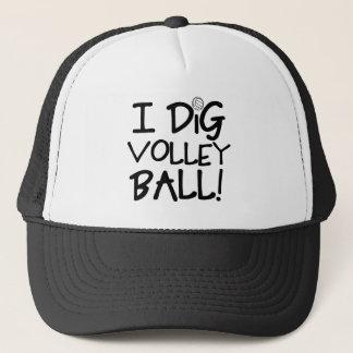 I Dig Volleyball Trucker Hat