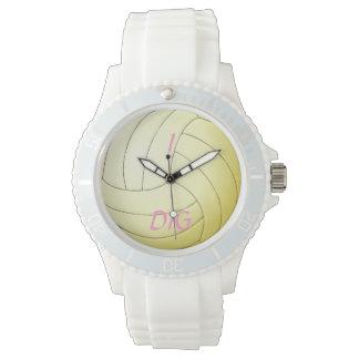 I Dig Volleyball Wristwatch