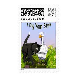 I Dig Your Style: Postage Stamps