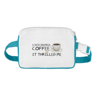 """I Discovered Coffee"" Fanny Pack"