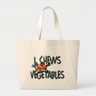 I diseño de las verduras de los Chews Bolsas De Mano
