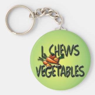 I diseño de las verduras de los Chews Llaveros