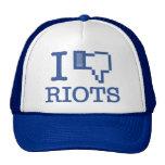 I DISLIKE RIOTS CAP