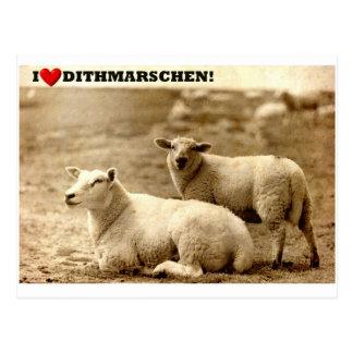 I ♥ Dithmar! Postcard