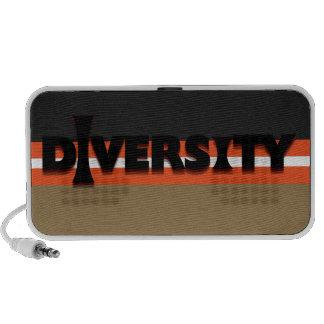 I Diversity Doodle Laptop Speakers