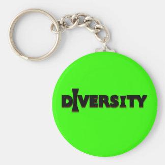 I Diversity Keychain