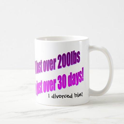 I Divorced Him Mug