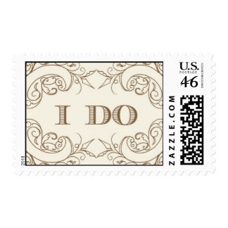 I Do #2-Gold By Ceci New York Stamps