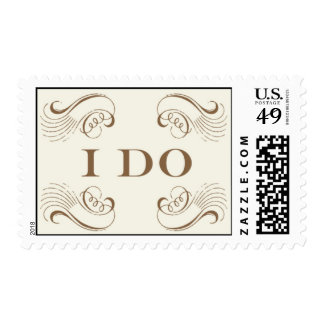 I Do #3-Gold By Ceci New York Postage