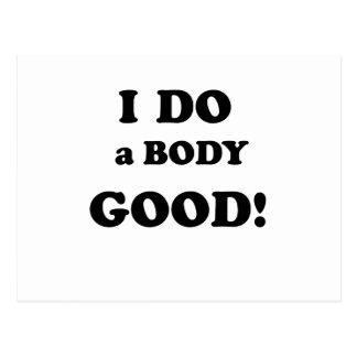 I Do a Body Good Postcard