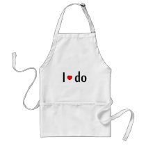 I Do Adult Apron
