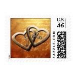 I Do Autumn Wedding Postage Stamp stamp