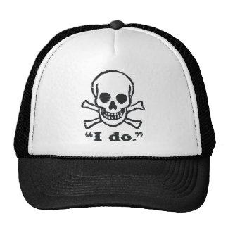 """""""I DO"""" Bachelor / Bachelorete Gift Hats"""