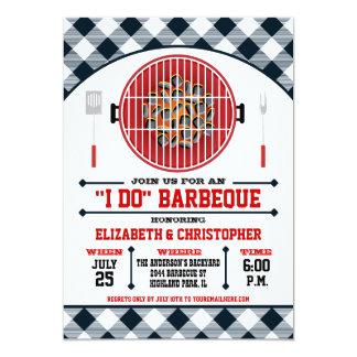 """""""I Do"""" Barbecue Grill Invitation"""