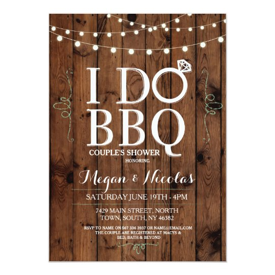 I do bbq chalkboard wood engagement party invite zazzle i do bbq chalkboard wood engagement party invite stopboris Choice Image