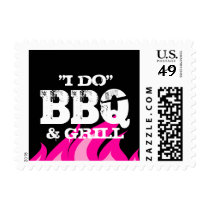 I do BBQ couples shower engagement party stamps