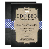 I DO BBQ Couple's Shower Engagement Pig Invite