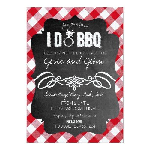I Do Bbq Invitations For Weddings Glitter N Spice