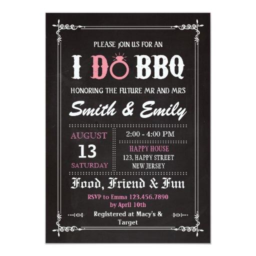 I Do Bbq Wedding Invitations 021 - I Do Bbq Wedding Invitations