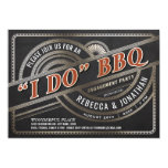 I Do BBQ Invitations - Engagement Party