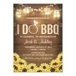 I Do BBQ Invite Sunflower Couples shower Rustic