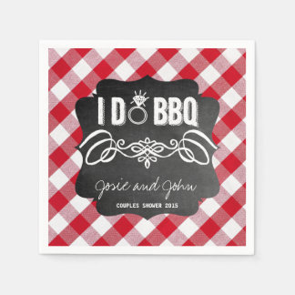 I Do BBQ Napkins