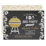 I Do BBQ party engagement couple shower invitation